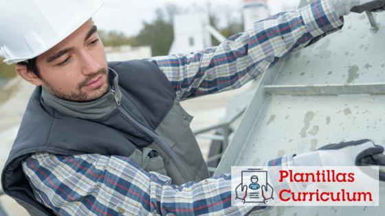Curriculum vitae para empleados de la Construcción