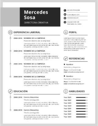 descargar plantillas curriculum vitae para wordpad