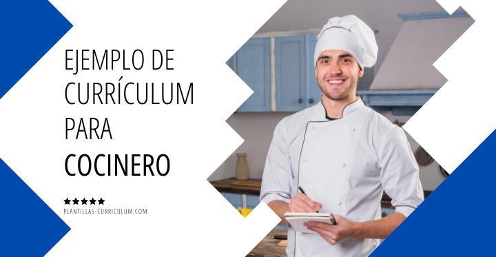 Ejemplo currículum de cocinero