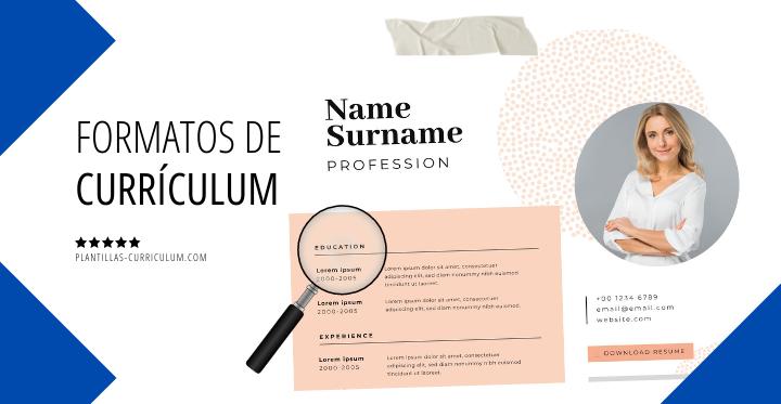 Formatos de currículum